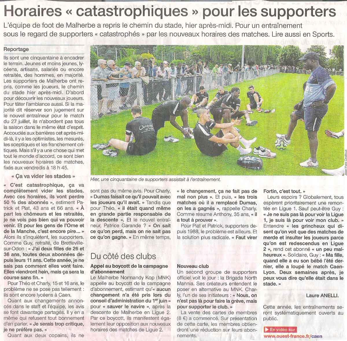 Revue de presse Of21-06-2012